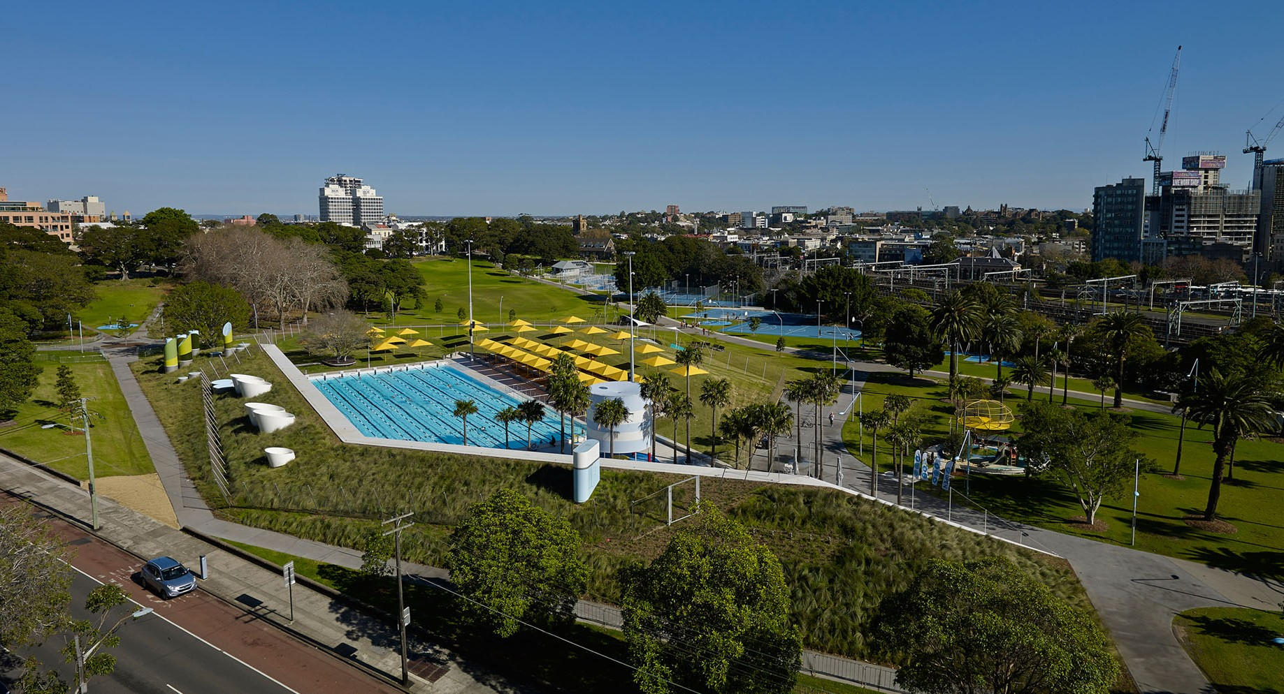 Prince alfred park pool upgrade neeson murcutt architects for Pool design sydney