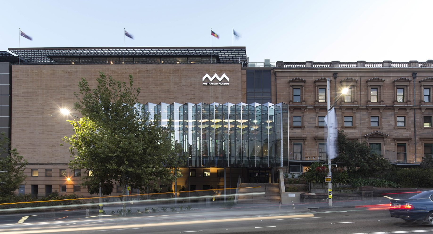 Museum Of Sydney Foyer : Australian museum new entry neeson murcutt architects